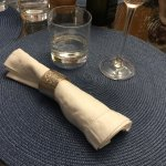 Each napkin ring has a personal story behind it!