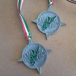 Our second place medals