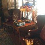Sitting room of the Oban Inn