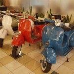 Antique Vespas