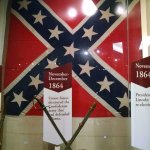 The flag taken when Atlanta was captuired by the Union army