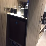 fridge and mini bar