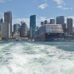 Leaving Circular Quay on ferry