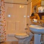 Large bathroom.