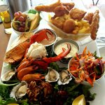The famous Seafood Platter for two - a must