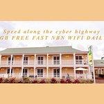 White Lace Motor Inn Foto