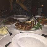 Porter House & Newyork Steak sooooo good.