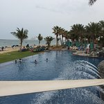 All inclusive info, pics around the hotel, nature, saltwater pool, playground, main pool and roo