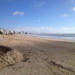 La plage de la Baule s'étend sur 9km...