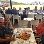 Lunch at Cable Bay Vineyards Restaurant