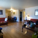 Lounge of 2 bed suite at Yellowstone Gateway Inn
