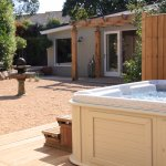 The Cottage Garden - hot tub