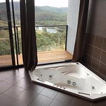 Spa with a view, couldn't get any better then that