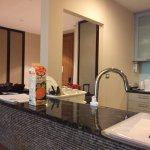 Clean and well-equipped kitchenette