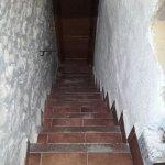 Escaleras de acceso a la habitación
