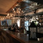 excellent stylish bar area