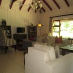 Idube, Indoor lounge area
