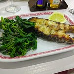 Local Fish and Spinach