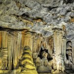 Rock formations in the Cango Caves