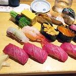 Great sushi assortment