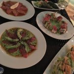 Our food at Tazuna (Japanese sushi restaurant)