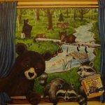 Kid Cabin decor
