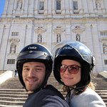 Church of São Vicente of Fora and then up the hill to the highest point of Lisbon :)