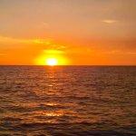 Sunset on Estero Bay