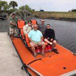 Getting ready for an awesome airboat ride!