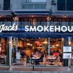 Jacks Smokehouse Puerto Banus by night