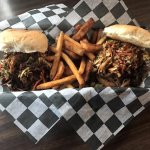 Monday Special: Two Pulled Pork Sandwiches with Fries