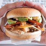 Our Superclub Chickenburger. Fresh food, fast!