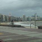 Rambla von Montevideo Foto