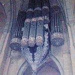 Medieval organ inside St Peter's Dom