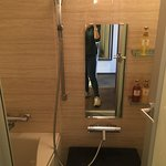 comfy shower area