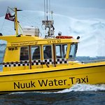 Our boat in Nuuk - Targa 25.1 with 330 HP