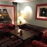 Lobby, bar, room, bathroom and restaurant