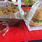 Poutine et american burger