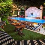 Nightime Poolside at Hotel ZaZa