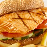 Salmon Fillet Sandwich