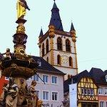 the beautiful church tower