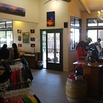 Great gift shop with local arts and more.