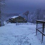 The Buck Inn after a morning snow storm