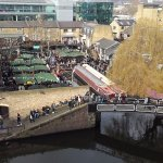 View of Camden Market from the hotel room
