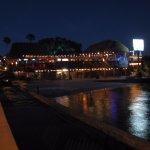 Blick vom Fishing Pier aufs Bootshaus