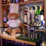 Chef bear occasionally help out!