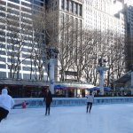 Bryant Park ice-skating