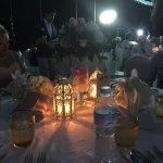 Dinner after wedding