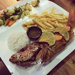 Red Snapper Special..was delicious, and I believe around 5000 C