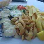 Mussels and Calamari Combo